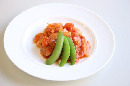 鶏肉のじっくりトマト煮