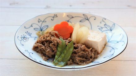 牛肉のすき焼煮