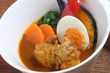 緑黄色野菜のスープカレー