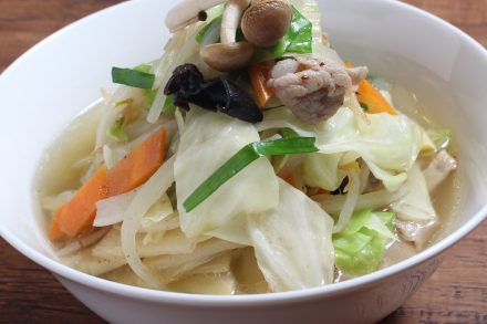 8品目野菜のタンメン